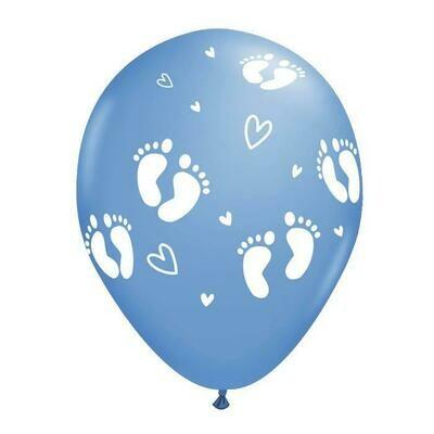 Μπαλόνι μπλε με πατουσάκια