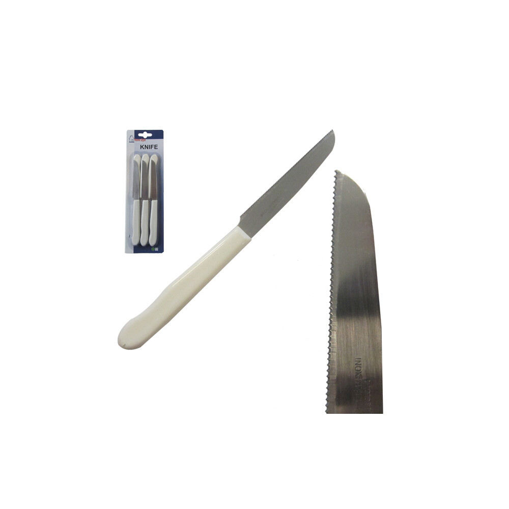 Σετ 6 τεμαχίων μαχαίρια με οδοντωτή λεπίδα