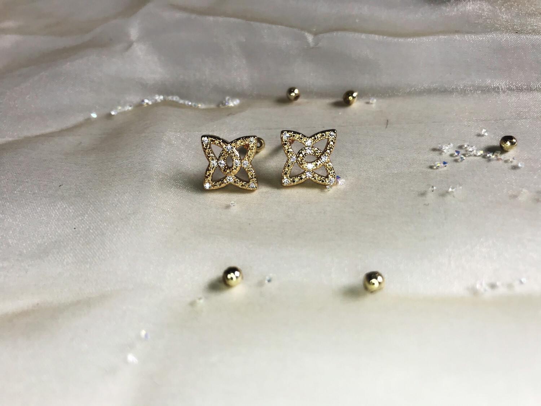 Ανοξείδωτα σκουλαρίκια 1 ζευγάρι
