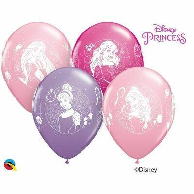 Μπαλόνι LATEX 11'' Πριγκίπισσες