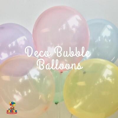 Μπαλόνια διάφανα  12'', 10τμχ