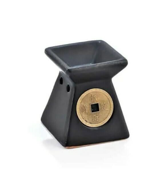 Αρωματιστής μαύρος με μπεζ κύκλο