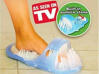 Παντόφλα καθαρισμού ποδιών