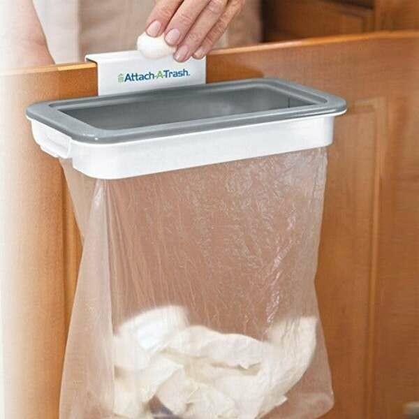 Πλαίσιο στήριξης με καπάκι για σακούλες σκουπιδιών