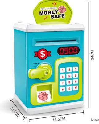 Χρηματοκιβώτιο κουμπαράς χρημάτων με κωδικό και δακτυλικό αποτύπωμα