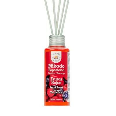 Αρωματικό χώρου με sticks Κόκκινα Φρούτα 100ml