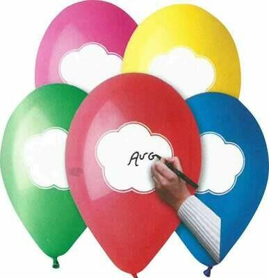 Μπαλόνι latex με συννεφάκι 12