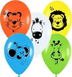 """Μπαλόνια Ζωάκια 12"""" 1τμχ"""