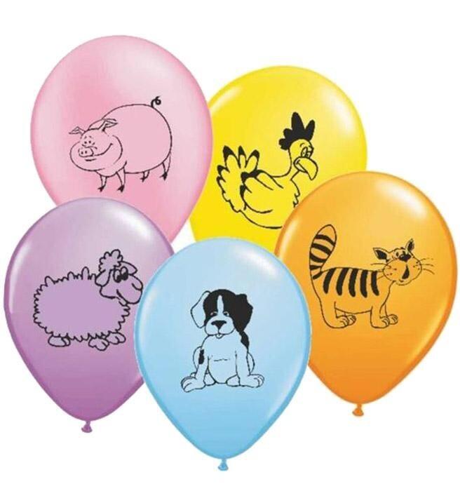 Μπαλόνια latex ζωάκια