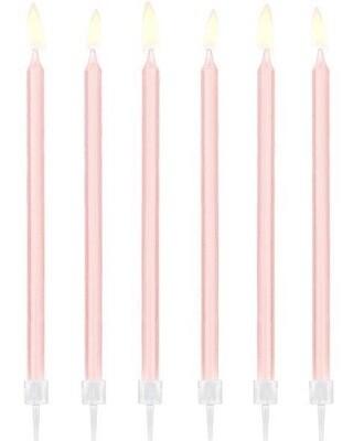 Κεριά γενεθλίων ροζ