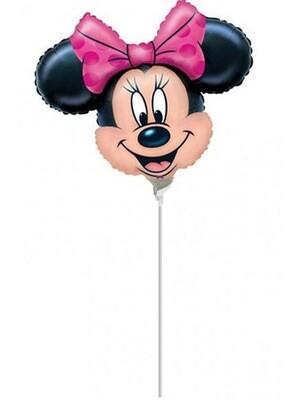 """Μπαλόνι foil MINNIE mini Shape 14"""""""