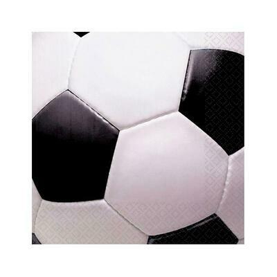 Χαρτοπετσέτες μπάλα ποδοσφαίρου 16τμχ