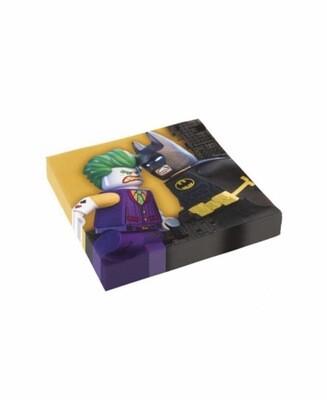 Χαρτοπετσέτες LEGO Batman 20τμχ