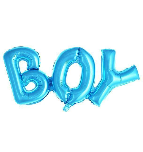 Foil μπαλόνι ΒΟΥ super shape