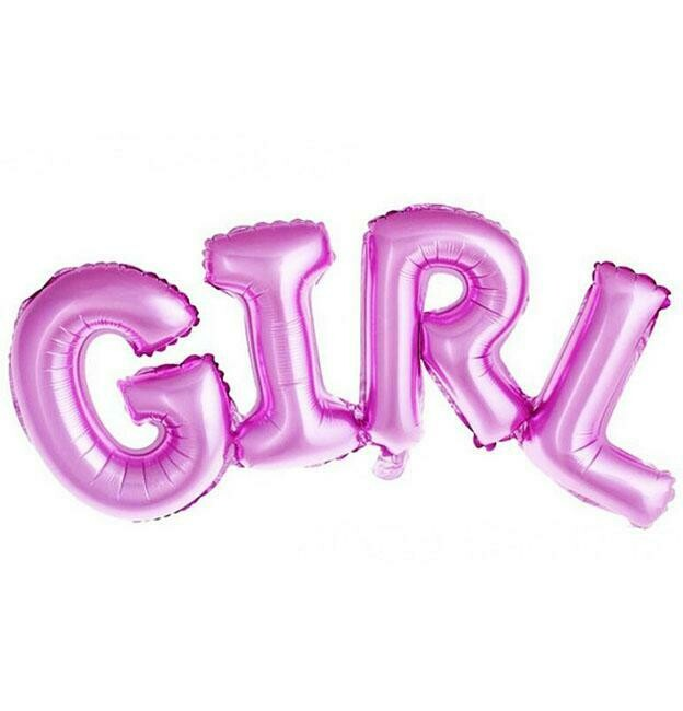 Foil μπαλόνι GIRL Super Shape