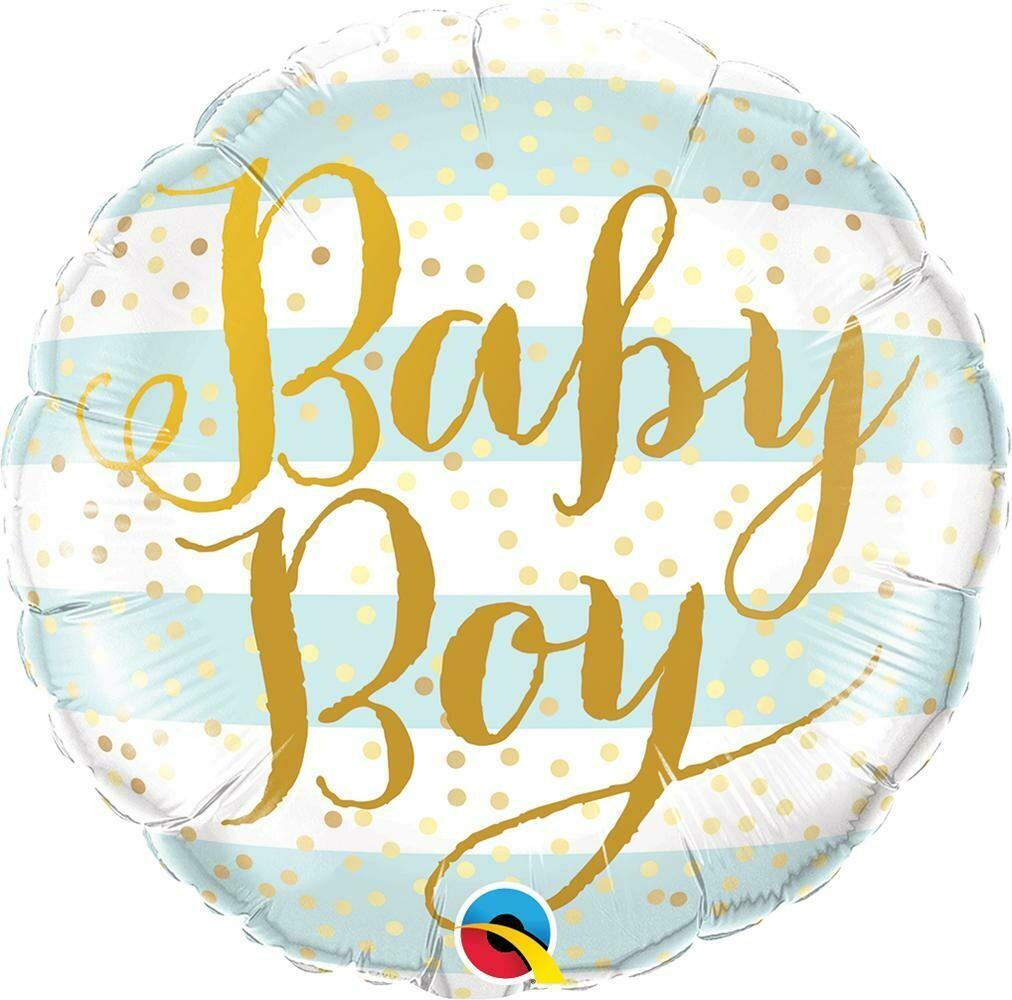 "Foil μπαλόνι BABY BOY 18"""