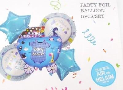 Μεταλλιζέ μπαλόνια αέρα ή ηλίου