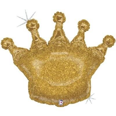 Μπαλόνι χρυσή κορώνα foil 36