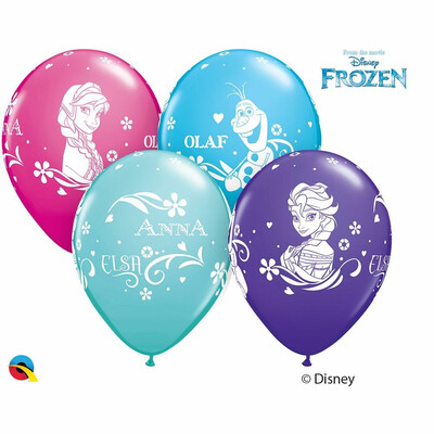 Μπαλόνια λάτεξ 11'' FROZEN
