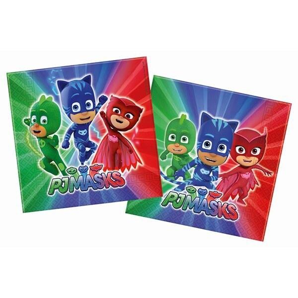 Χαρτοπετσέτες Pj Masks 20τμχ