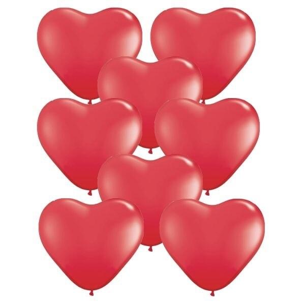 """Κόκκινη καρδιά latex 12"""""""