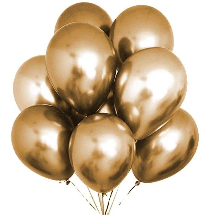 Μπαλόνια Chrome 12'' Extra Metallic Χρυσό 1τμχ
