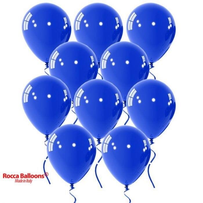 """Μπαλόνι μπλε Περλέ 5"""" 1τμχ"""
