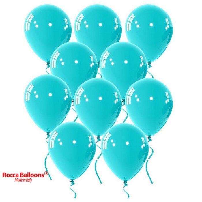 """Μπαλόνι aquamarine περλέ 5"""" 1τμχ"""