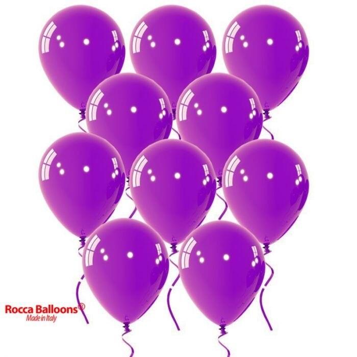 """Μπαλόνι μωβ περλέ 5"""" 1τμχ"""
