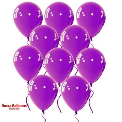 Μπαλόνι μωβ περλέ 5