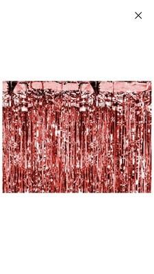 Μεταλλική κουρτίνα κόκκινη