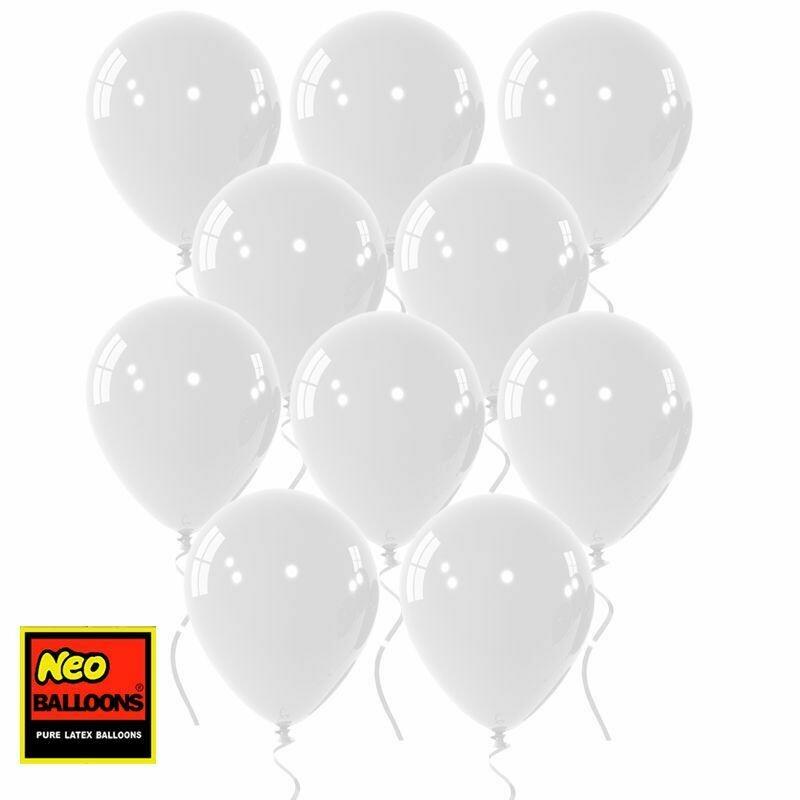 """Μπαλόνι 12"""" άσπρο 1τμχ"""