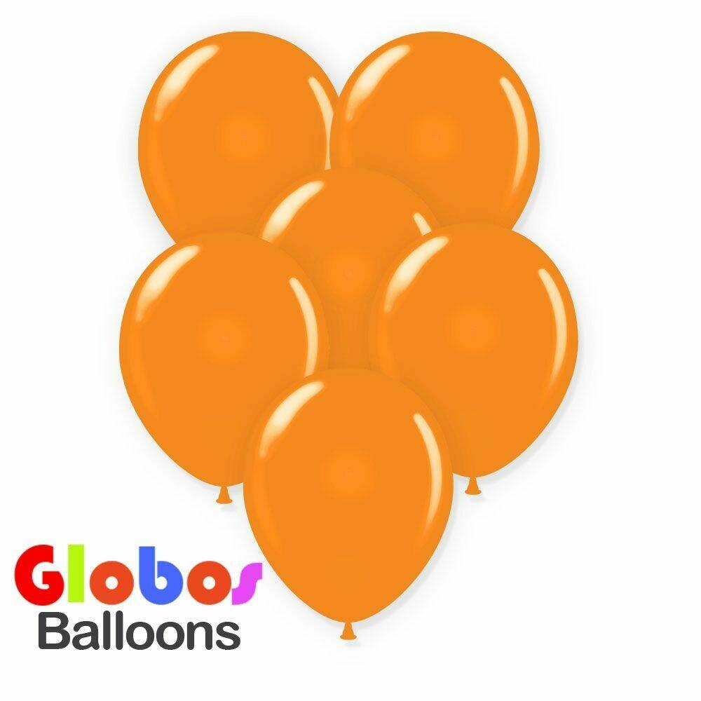 """Μπαλόνι 12"""" πορτοκαλί 1τμχ"""