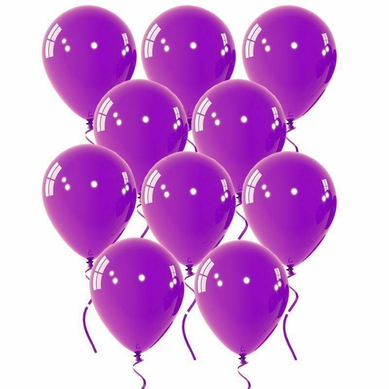 """Μπαλόνι 12"""" μωβ 1τμχ"""