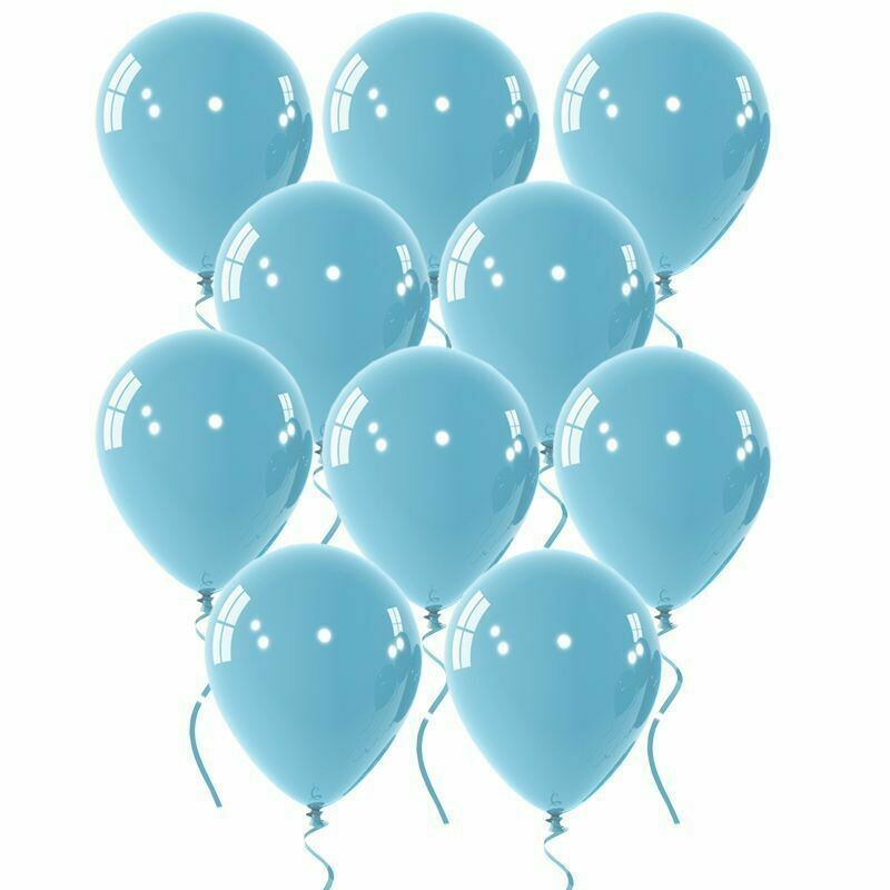"""Μπαλόνι 12"""" γαλάζιο 1τμχ"""