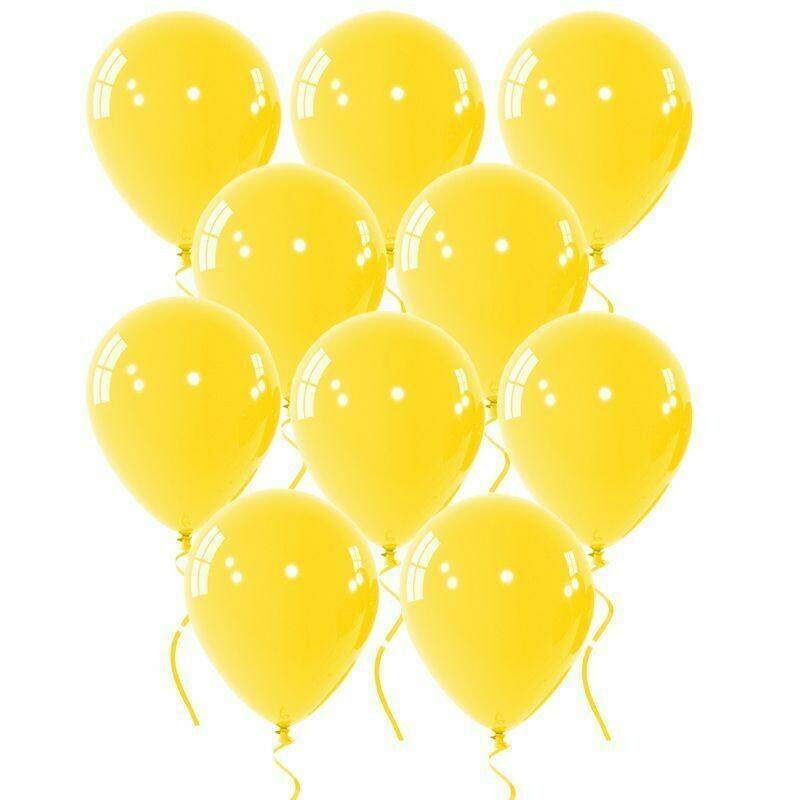 """Μπαλόνι κίτρινο 12"""" 1τμχ"""