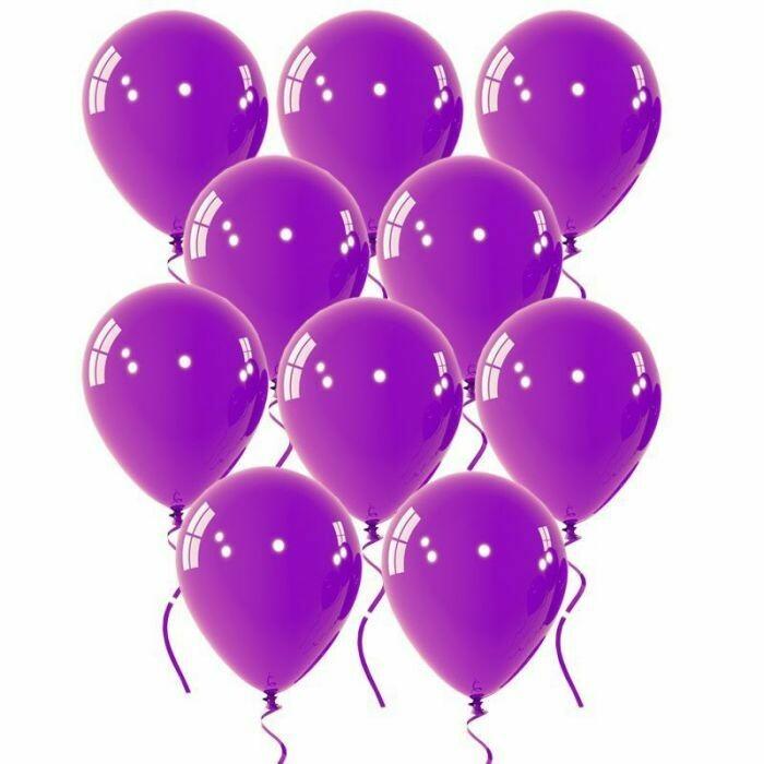 """Μπαλόνι μωβ 5"""" 1τμχ"""