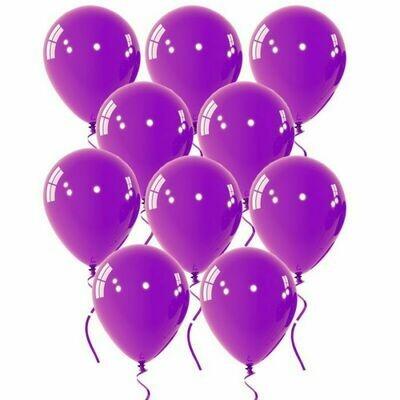 Μπαλόνι μωβ 5