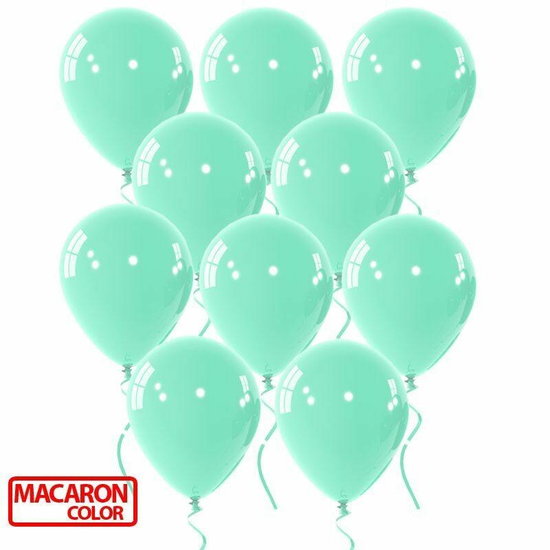 """Μπαλόνι macaron μέντα 12"""" 1τμχ"""