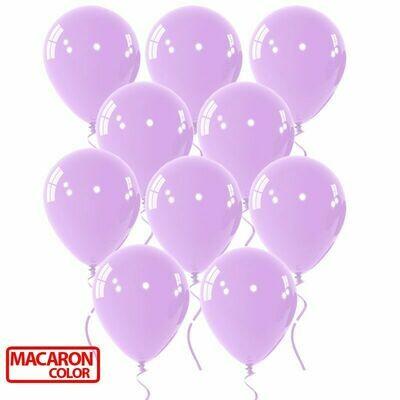 Μπαλόνι macaron λιλά 12