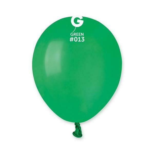 """Μπαλόνι 5"""" πράσινο 1τμχ"""