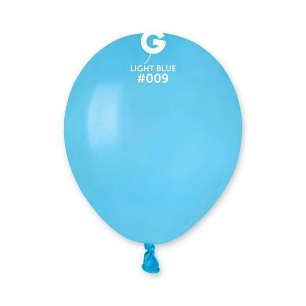 """Μπαλόνι 5"""" γαλάζιο 1τμχ"""