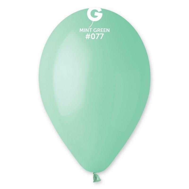 """Μπαλόνι 5"""" mint green 1τμχ"""