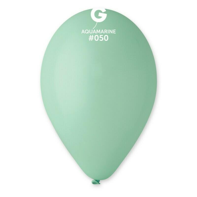 """Μπαλόνι aquamarine 12"""" 1τμχ"""