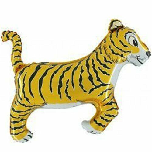 """Μπαλόνι foil τίγρης 33"""""""