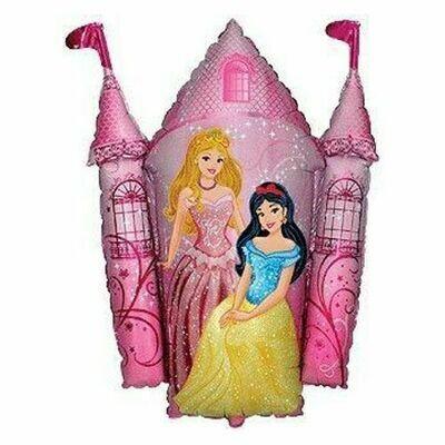 Μπαλόνι foil κάστρο με πριγκίπισσες  38