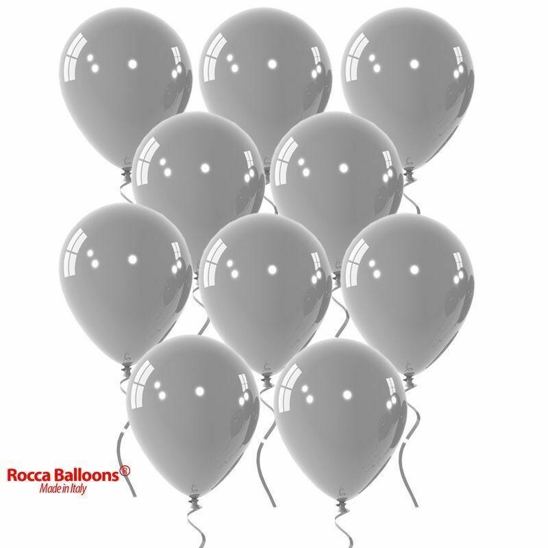 """Μπαλόνι 12"""" γκρι 1τμχ"""