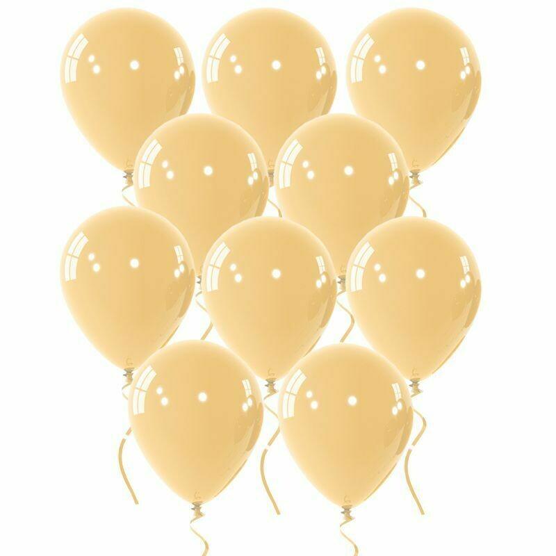 """Μπαλόνι 5"""" ιβουάρ 1τμχ"""
