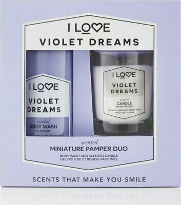 Violet Dreams Mini Pamper Duo