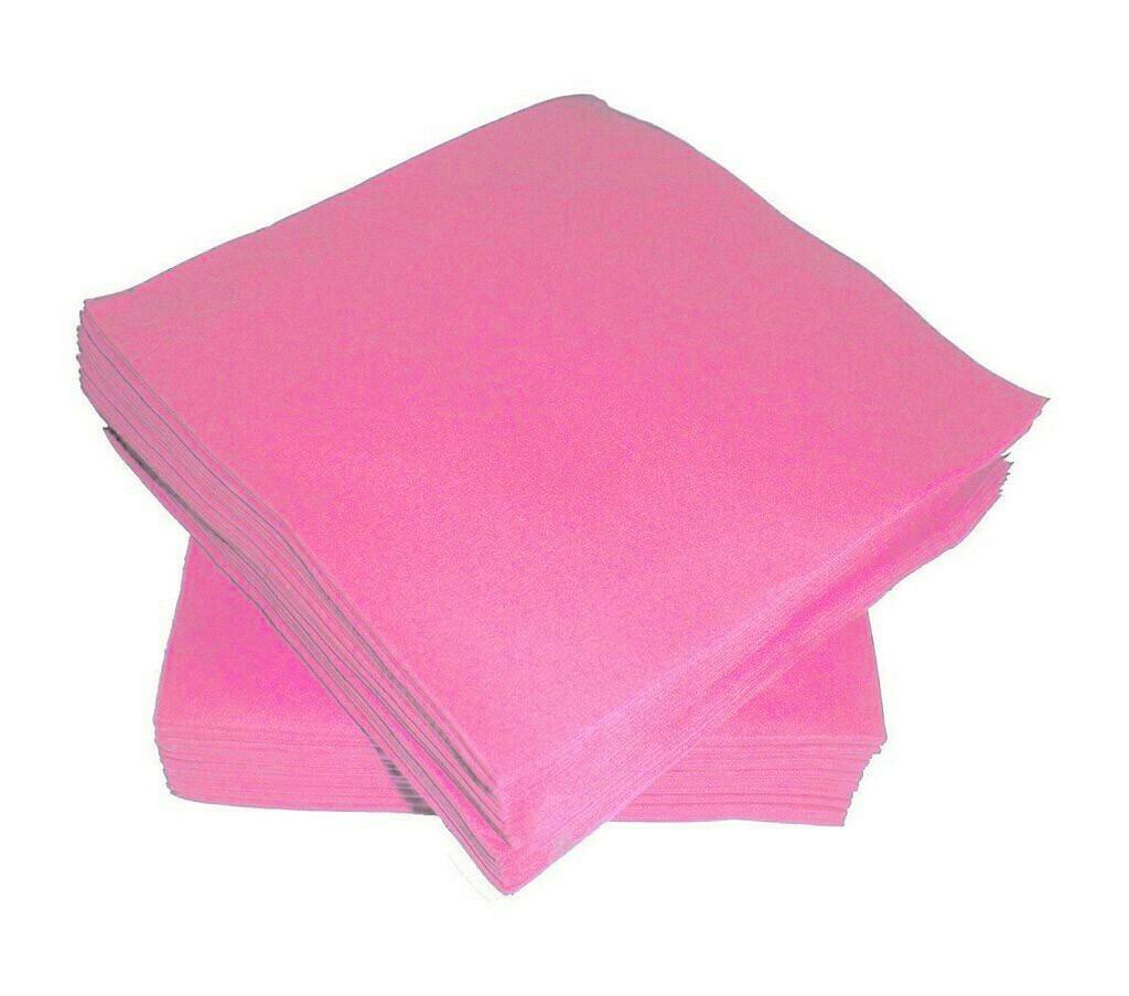 Χαρτοπετσέτες ροζ μικρές 50τμχ